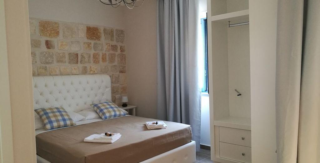 Hotel di charme con camera doppia in Puglia con tutti i comfort