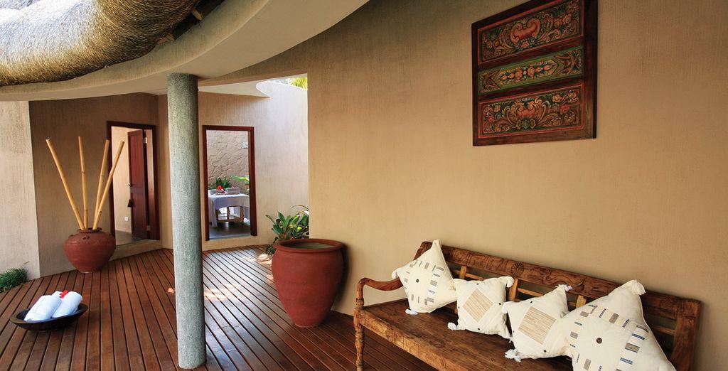 Concedetevi momenti di puro relax ed entrate in un mondo benessere: la spa del resort è l'oasi di pace che cercate