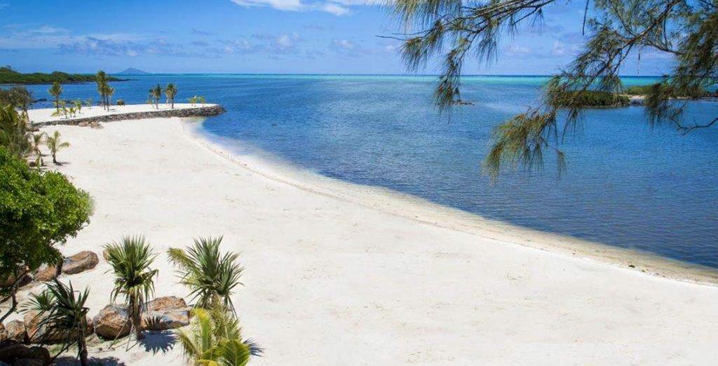L'incantevole spiaggia dove trascorrere momenti di puro piacere
