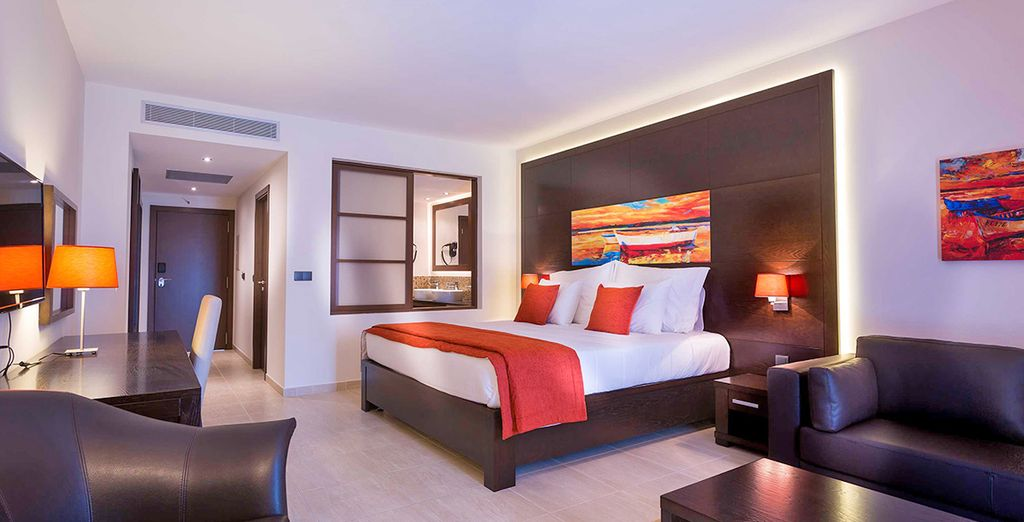 Hotel di lusso con tutti i comfort, camera doppia con vista sull'Oceano Atlantico, selezionato da Voyage Privè