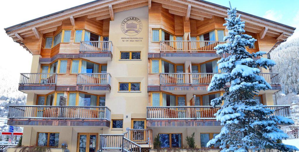 L'Hotel Garnì Pegrà è una struttura nuova e curata