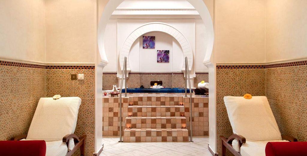Avrete a disposizione una deliziosa spa in cui coccolarvi