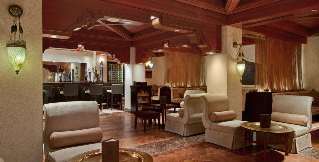 Questo lussuoso resort dispone di 14 punti ristoro