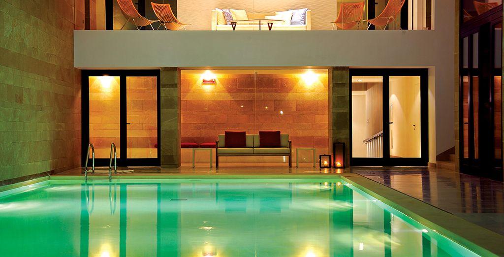 La spa dal design contemporaneo