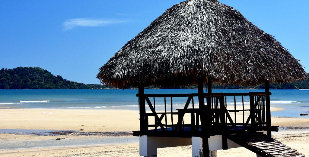 Orangea Village è pronta ad accogliervi sulla spiaggia di Bemoko