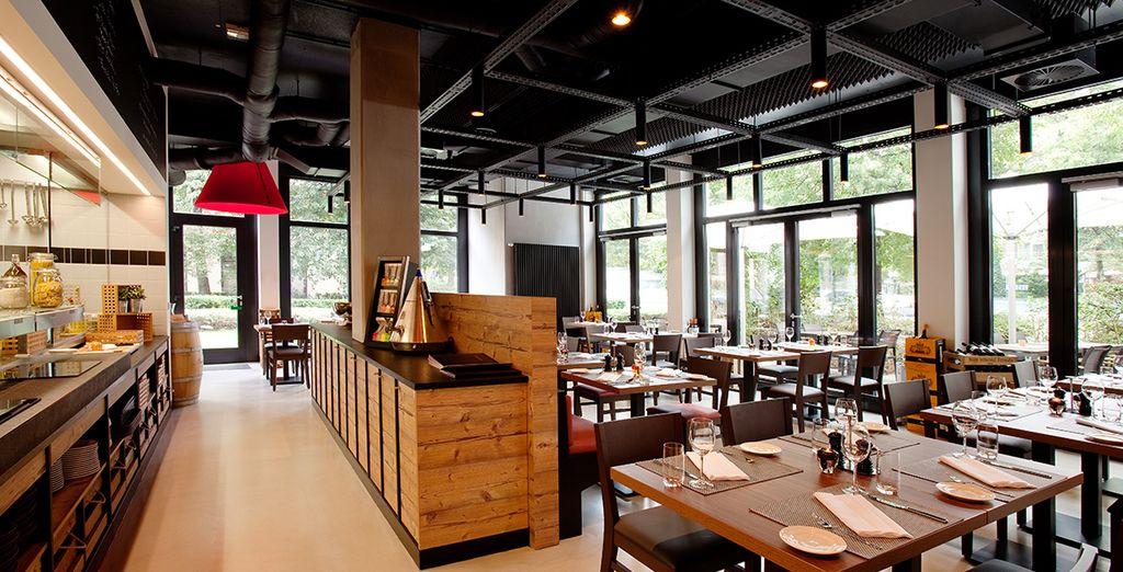 Il ristorante vi attende in un ambiente giovanile e dinamico
