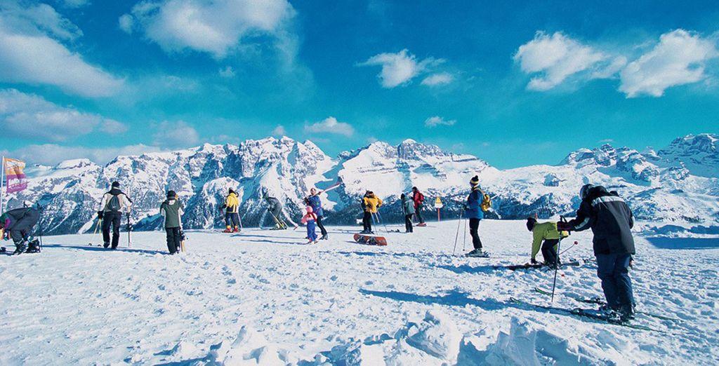 Le piste di Madonna di Campiglio attendono gli sciatori più intrepidi