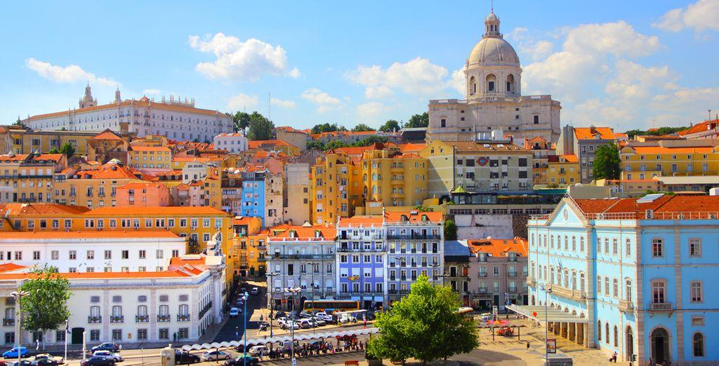 una delle capitali più colorate d'Europa.