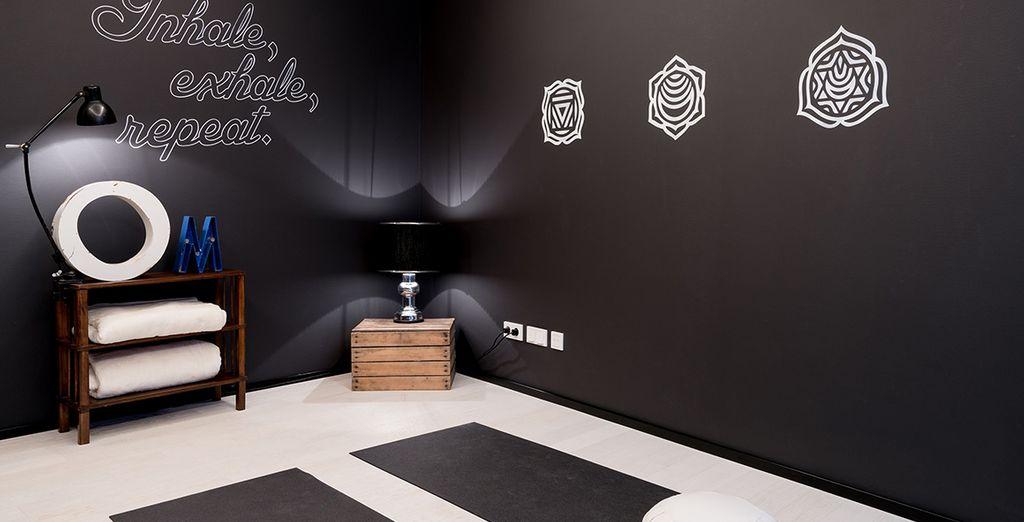 Avrete anche a disposizione una sala di meditazione Zen