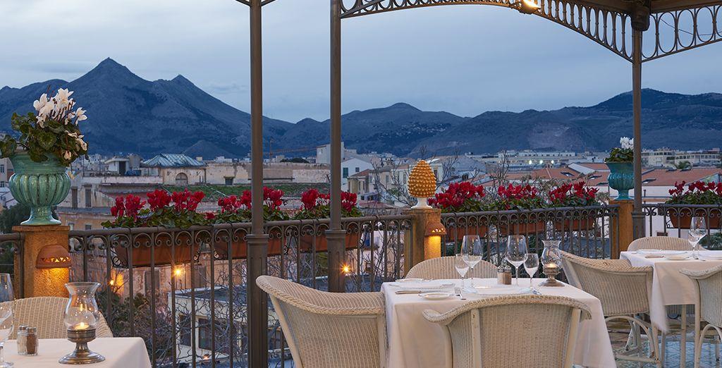 Accomodatevi al Roof Garden, un'accogliente terrazza privata