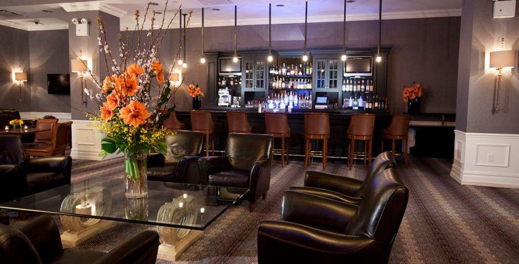 Fate una pausa nell'accogliente atmosfera della lobby