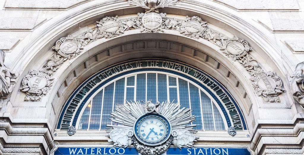 Vi troverete nelle vicinanze della Stazione di Waterloo