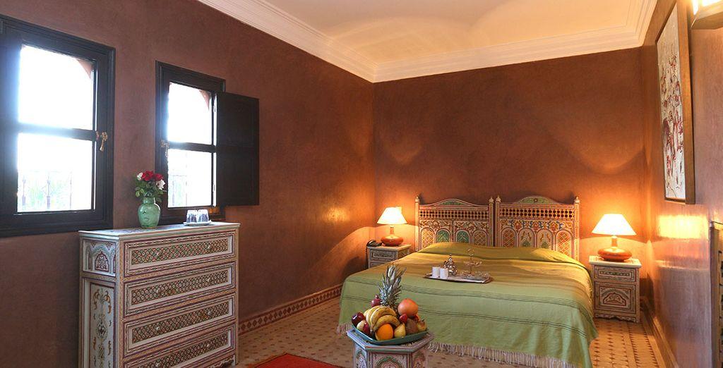 Durante il vostro soggiorno potrete scegliere se rilassarvi nelle Camere standard confortevoli e arredate in stile