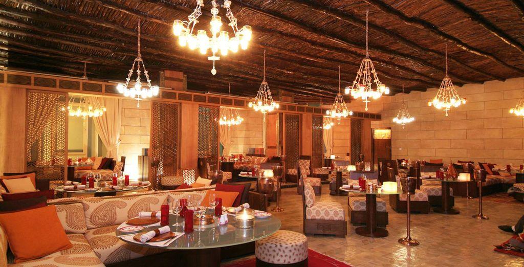 Deliziate i sapori del Marocco in uno dei 3 ristoranti dell'hotel