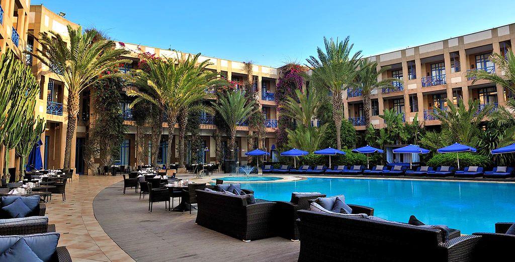 Le Medina Essaouira Hotel Thalassa Sea & SPA - MGallery Collection 5* è pronto ad accogliervi