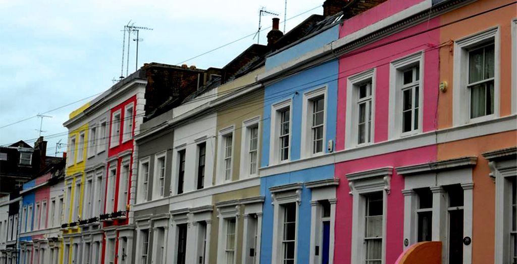 vicino al famoso quartiere di Notting Hill