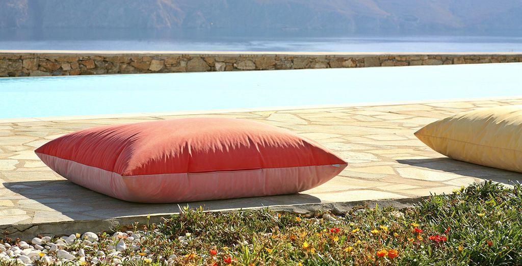 Qui potete rilassarvi e sentirvi completamente a casa