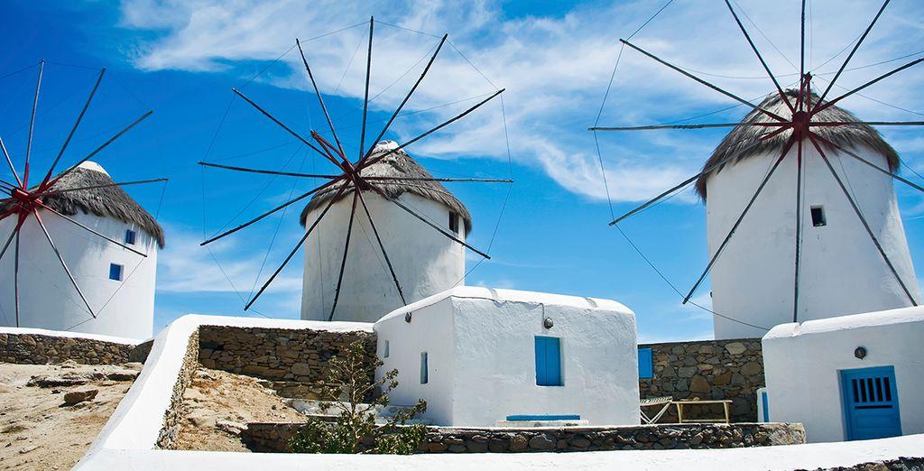 Scoprite gli affascinanti villaggi bianchi di Mykonos!