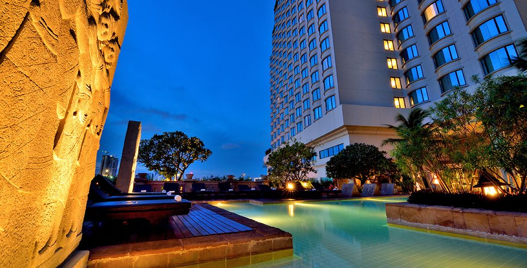 Qui soggiornerete presso il Century Park Bangkok 4*