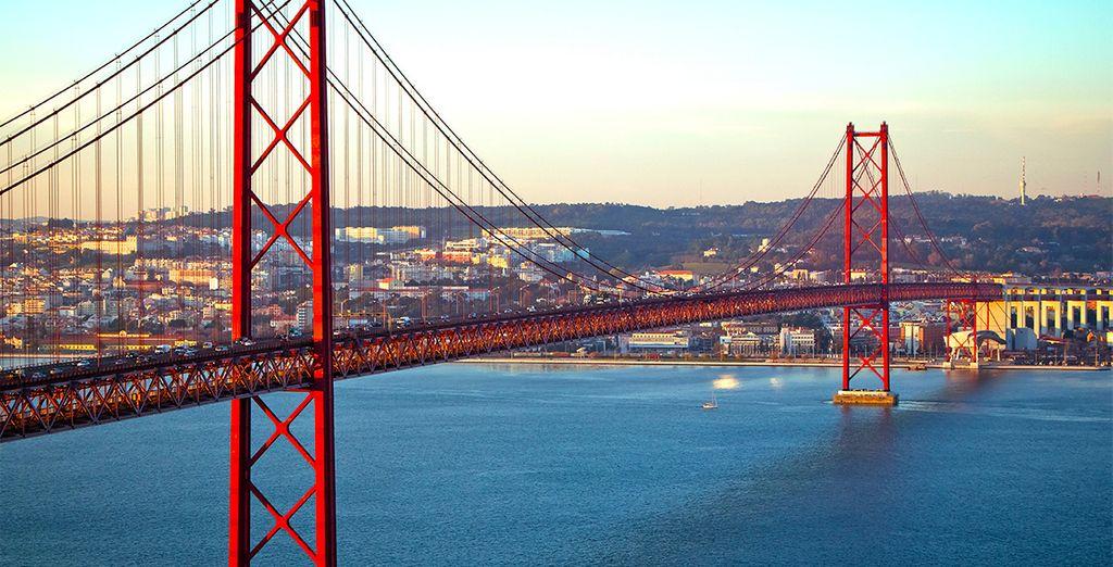 e godetevi il soggiorno nella capitale portoghese.