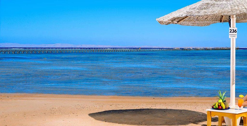 Senza dimenticare la spiaggia e i suoi meravigliosi colori
