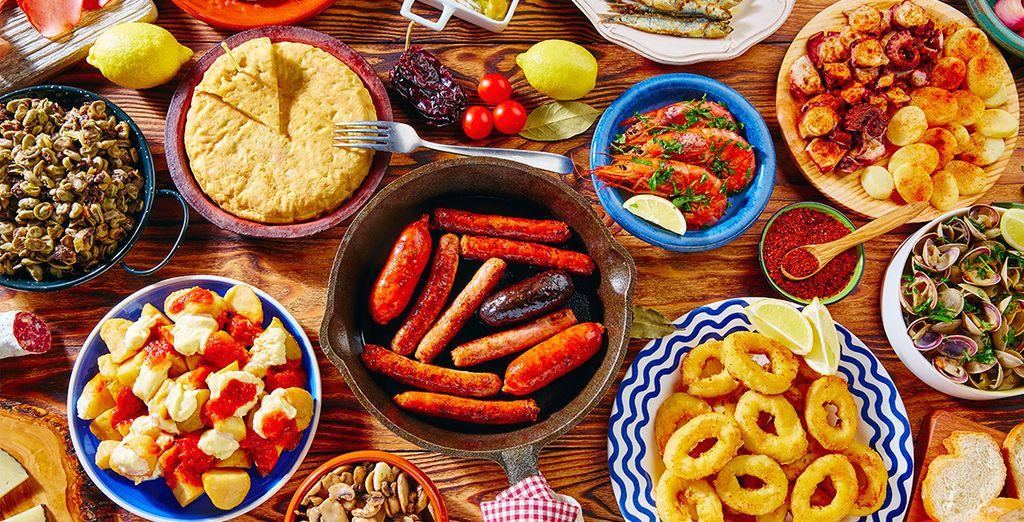 grazie al quale apprezzerete le migliori ricette della cucina tradizionale andalusa