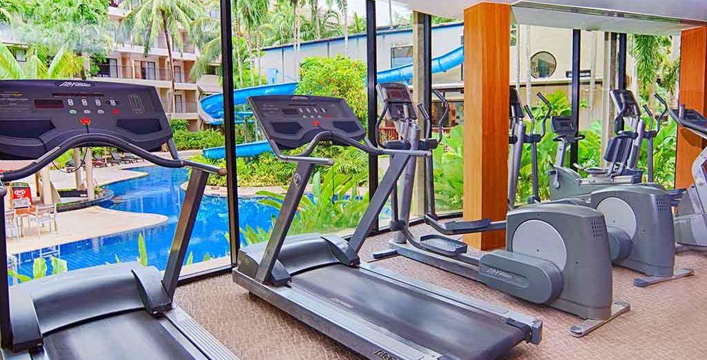 e tenetevi in forma allenandovi nella palestra dell'hotel dotata dei migliori attrezzi
