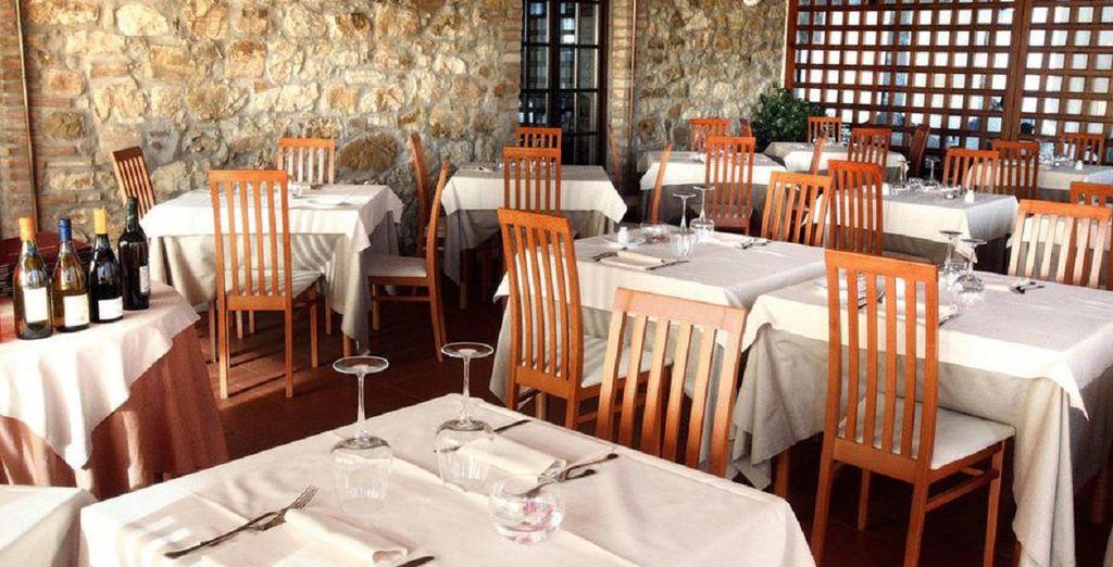 Il Ristorante La Castagneta vi aspetta per un assaggio di piatti gourmet