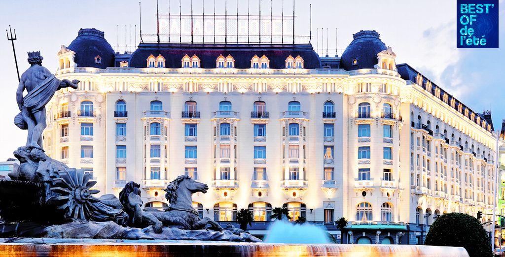 Benvenuti nello storico hotel di Madrid