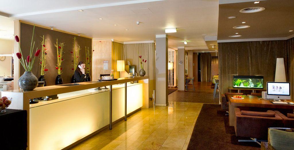 Il Falkensteiner Hotel Am Schottenfeld vi accoglierà nel cuore della capitale