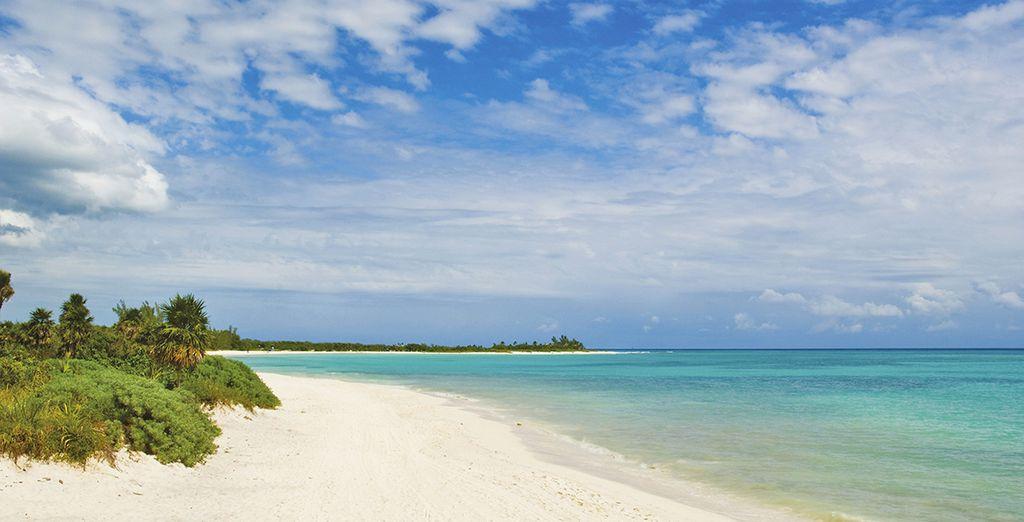 Rilassatevi sulle bianche spiagge di Playa del Carmen