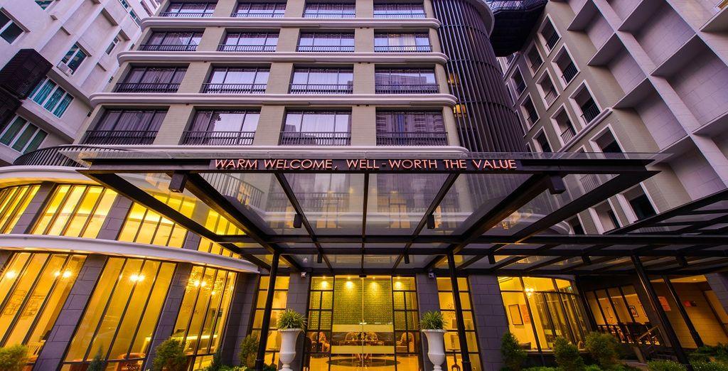Qui soggiornerete presso il Well Hotel Bangkok Sukhumvit 20 5*