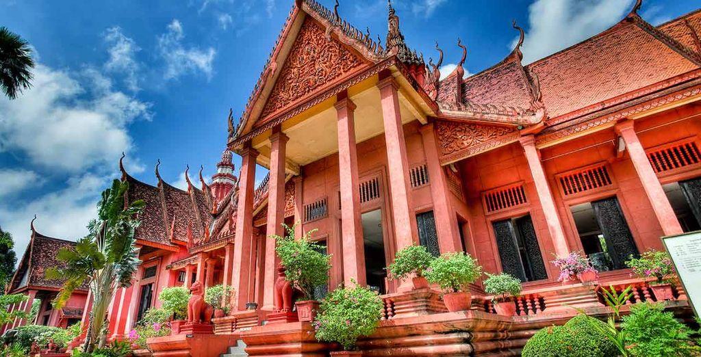 Scoprite la capitale Phnom Penh