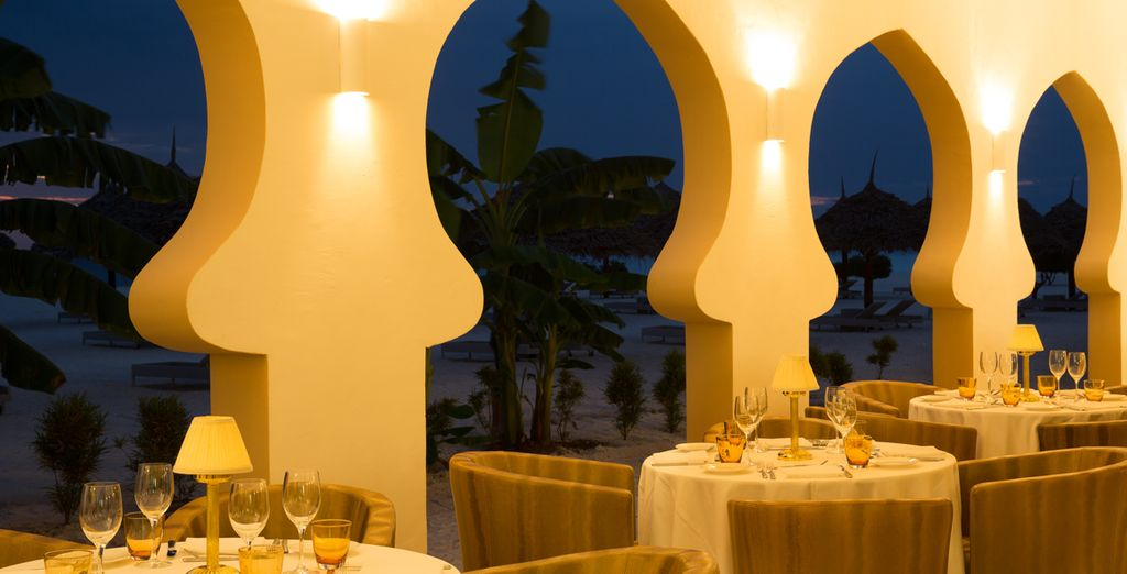 Gustate le specialità culinarie del Beach Restaurant