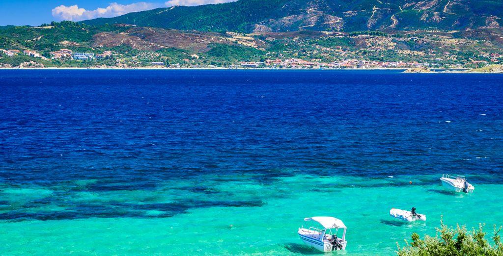 Le meravigliose spiagge di Sithonia vi aspettano