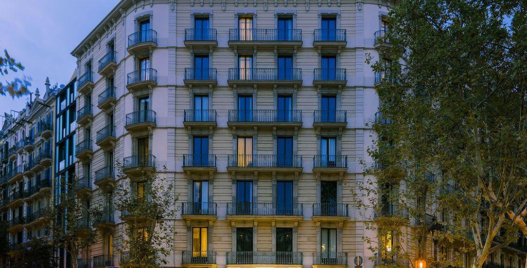 Il vostro boutique hotel situato nel centro di Barcellona