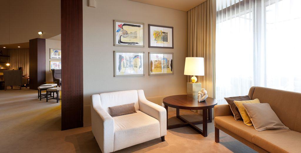 Un elegante hotel 4* della catena Holiday Inn vi attende