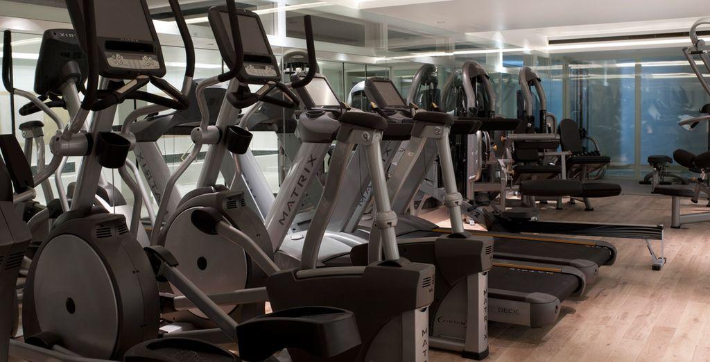 Mantenetevi in forma con il centro fitness