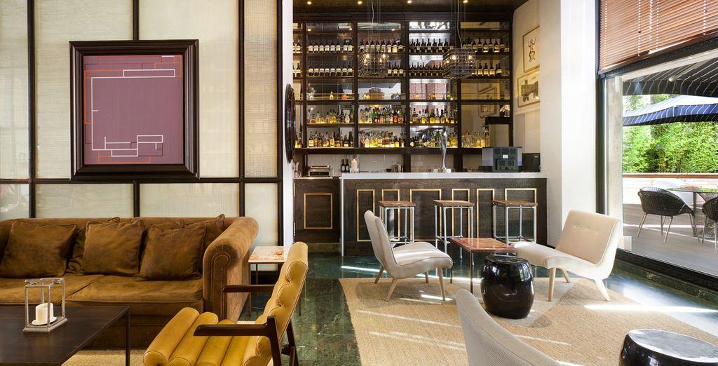 Il Lobby Bar preparerà per voi esclusivi cocktail e snack