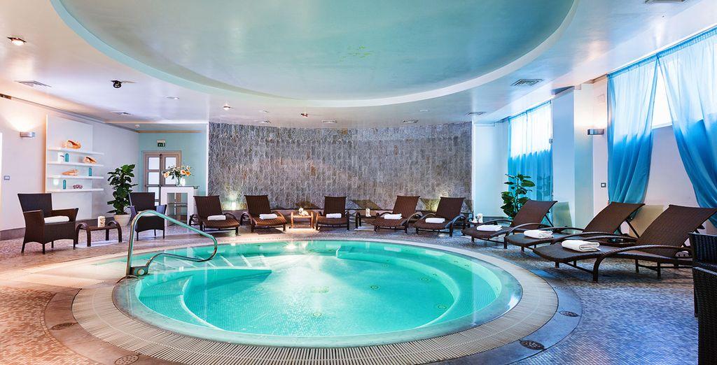 La lussuosa Spa sarà il luogo perfetto dove rilassarsi