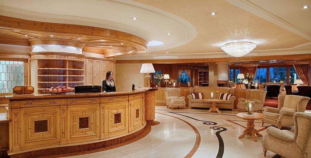 Alpenpalace Hotel vi dà il benvenuto per il vostro soggiorno