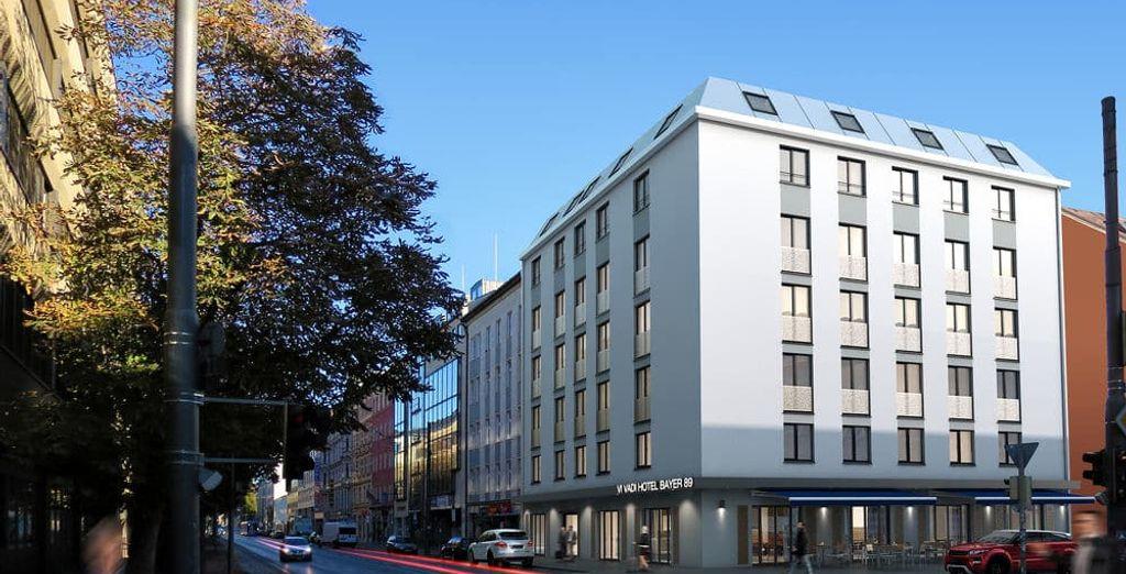 Hotel moderno e in pieno centro