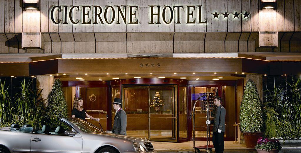 L'Hotel Cicerone 4* è lieto di accogliervi