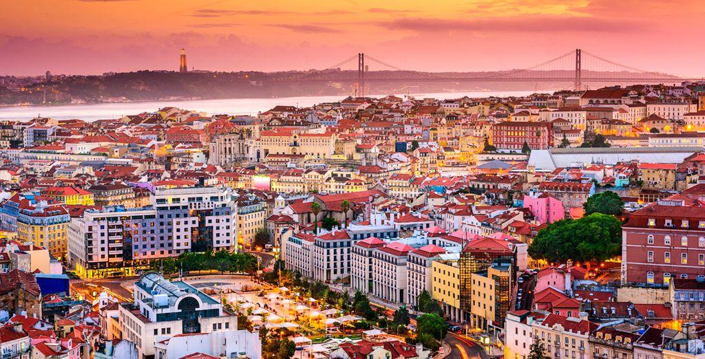 Trascorrerete un soggiorno indimenticabile nella bellissima capitale portoghese.