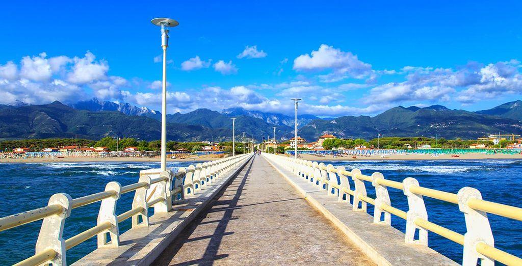 Visitate le località vicine, come la bellissima Forte dei Marmi.