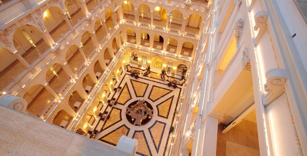 un hotel di lusso: il Boscolo Residence 5*