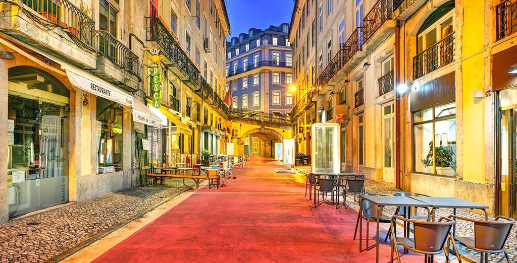 Nel centro storico di Lisbona, nel cuore delle sue vie ricolme di luci e tradizioni