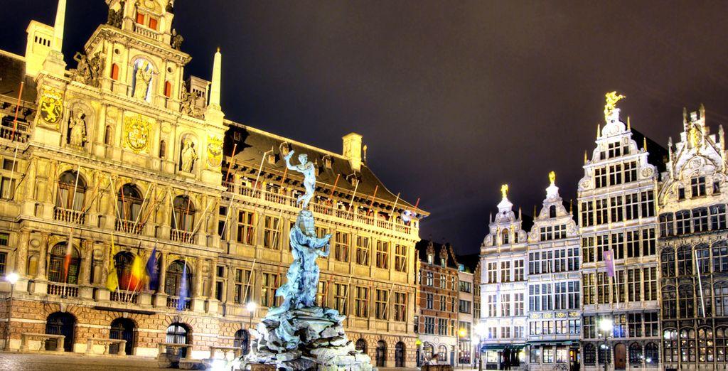 Ammirate i simboli di Bruxelles
