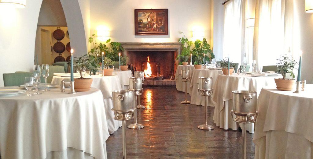 Troverete un'ottima cucina regionale in location eleganti