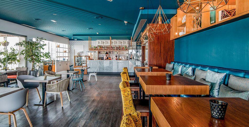 Concedetevi un break nel moderno lounge bar
